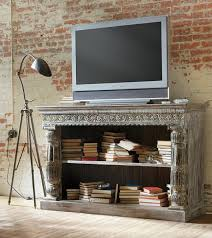 Living Room Light Stand Attractive Indian Living Room Furniture Using Rustic Media Console
