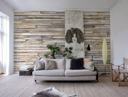House Murals by Whitewashed Wood Wall Mural Design By Komar For Brewster Home