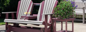 Amish Patio Furniture Outdoor Poly Furniture Amish Made In Ohio