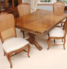stanley furniture veneer dining table and chairs ebth