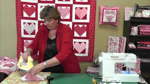 valentine s day table runner quilting valentine s hearts using charm packs youtube