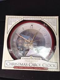 buy nib snow family carol clock plays 12 songs one each