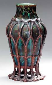 Tiffany Favrile Glass Vase Tiffany U0027s Natural Inspirations Came From Not Just Flowers But The