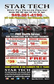 c bmw service special offers tech motors bmw and mercedes repair and