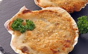 cuisine coquille st jacques jacques great scallops with seaweed butter noix de