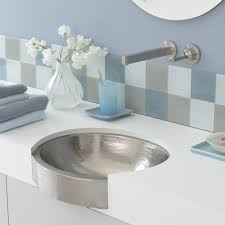 calypso 19 inch oval undermount bathroom sink native trails