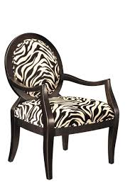 Home Decor Accent Chairs by Gray And White Zebra Accent Chair Home Chair Designs Throughout