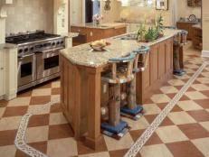 cheap kitchen flooring ideas kitchen flooring ideas pictures hgtv