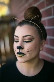 halloween makeup glam kitty live love lash