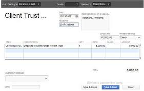 handling client funds transactions in quickbooks part 1