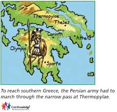 Greece On A Map Core Knowledge Uk Image Library Year Three
