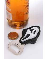 scream ghostface bottle opener halloween time pinterest