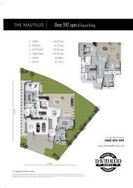 australian mansion floor plans the nautilus floor plan concept range david reid homes