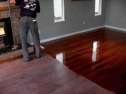 can u refinish engineered hardwood floors our meeting rooms