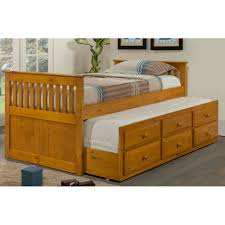 Childrens Trundle Beds Bedroom Storage King Bed Twin Captains Bed With Storage Kids