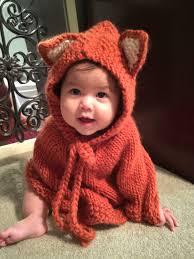 baby halloween costumes etsy baby fox poncho baby hooded poncho girls cape children