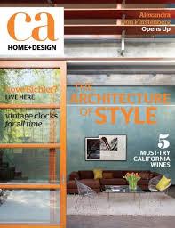 magazine california home design