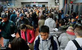 travelers begin thanksgiving exodus photos and images