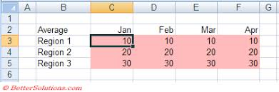 excel worksheets consolidating