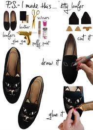 Paint For Faux Leather - shoe makeovers paint them