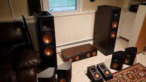 klipsch reference home theater system and so it begins home theater the klipsch audio community