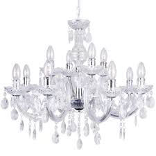 12 Arm Chandelier Chandelier 12 Way Modern Therese Brass Light With Free Led