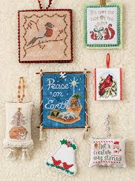 just crossstitch ornaments 2016