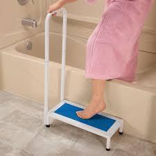 Bath Safety Step Bath Step Stool Shower Step Stool Easy Comforts - Bathroom step
