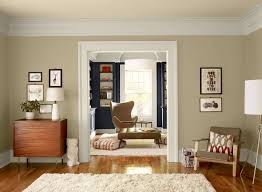example of a large classic brown floor living room design in