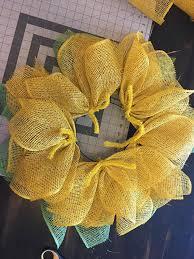 sunflower wreath diy sunflower wreath tutorial grillo designs