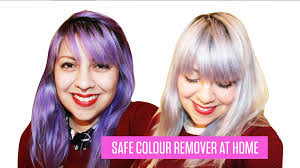 rinses hair with coke how to remove semi permanent hair dye no bleach youtube