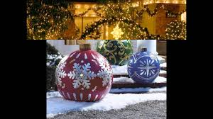 Outdoor Christmas Decoration Ideas by Fabulous Outdoor Christmas Decorating Ideas Youtube