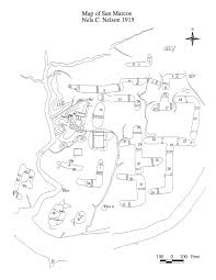 Mission San Jose Floor Plan by Galisteo Basin Archaeology Pueblo San Marcos
