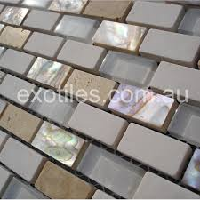 exotiles steel and glass mosaic tiles