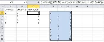 working with range formulaarray in vba rad excel