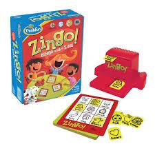 amazon com zingo bingo with a zing game amazon launchpad