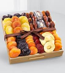 dried fruit gift kosher gourmet dried fruit tray