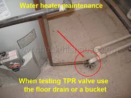 tank gas water heater maintenance 2 tprv tank drainage flue