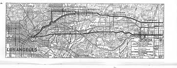 Map Of Los Angeles Airports Question About Old Us 60 70 Alignment In La Area Midland Trail