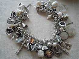 antique charm bracelet charms images Cherub antiques charms jpg