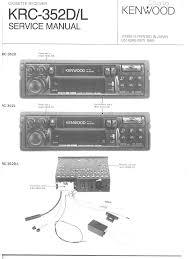 kenwood krc352l service manual immediate download