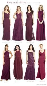 burgundy bridesmaid dresses burgundy mismatched bridesmaid dresses