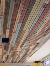 How To Install Beadboard On Ceiling - our beadboard installation project in bryan living vintage