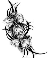 Flower Designs For Drawing Best 25 Black Flower Tattoos Ideas Only On Pinterest Tattoo