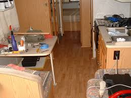 Water Got Under Laminate Flooring Rv Laminate Flooring Modmyrv