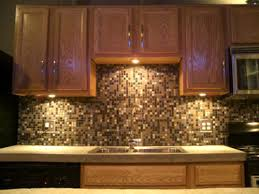 kitchen mosaic tile backsplash backsplash for golden oak cabinets spectralight backsplash
