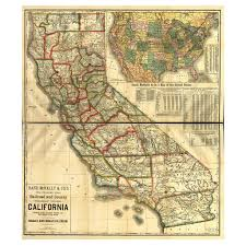 State Map Of California by Our State Map Of California U2013 Library Of Congress Shop