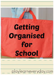 getting organised for play and learn every day