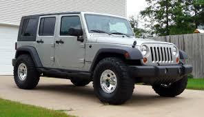 jeep jku 35s 35 u0027s on non lifted lt graystone unlimited x 4x4