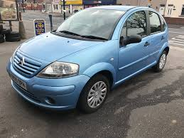 citroen c3 1 4 petrol manual 5 door hatchback blue part ex bargain